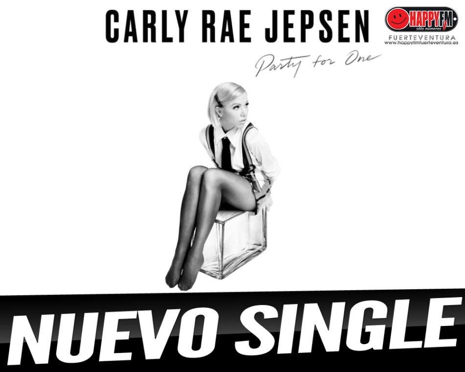 """""""Party For One"""" es el single de regreso de Carly Rae Jepsen"""