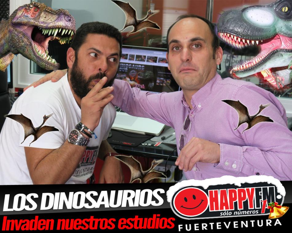 Los Dinosaurios invaden nuestros estudios de la mano de Dinosaurs Tour