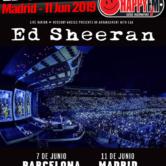 Ed Sheeran en Madrid