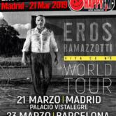 Eros Ramazzotti en Madrid