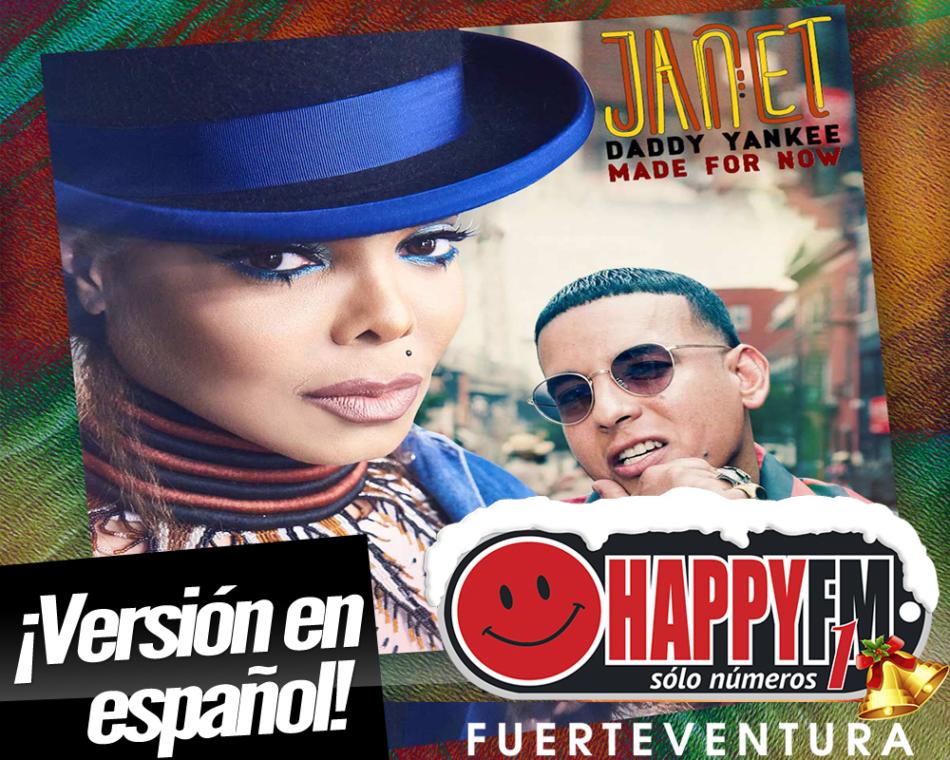 """Janet Jackson y Daddy Yankee estrenan la versión latina de """"Made For Now"""""""