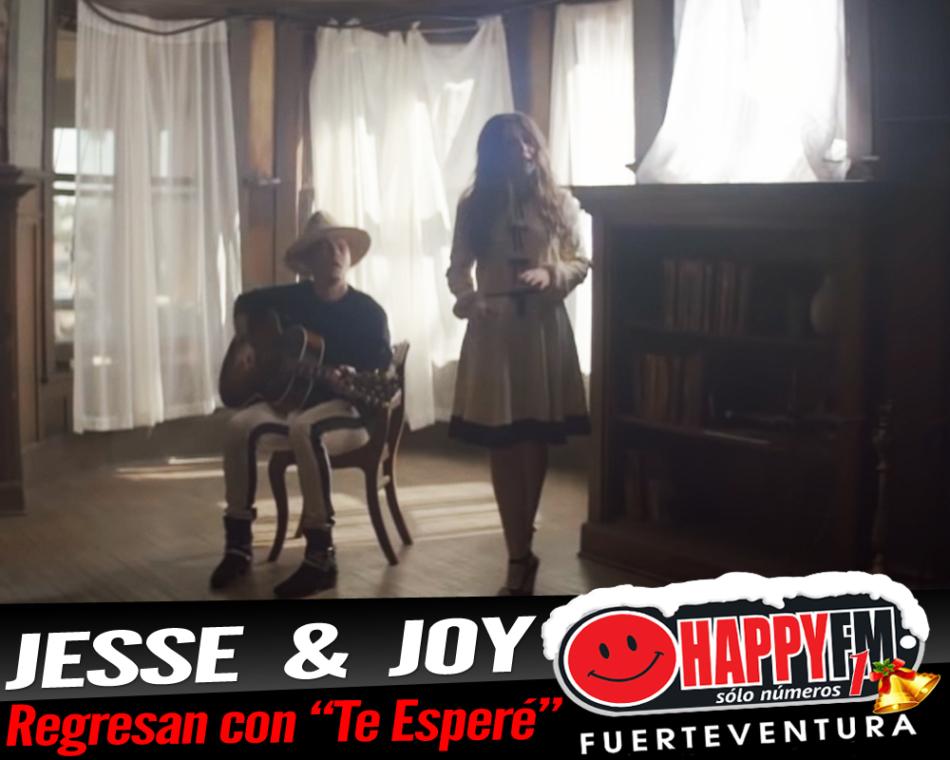 """""""Te Esperé"""" es el regreso musical de Jesse & Joy"""