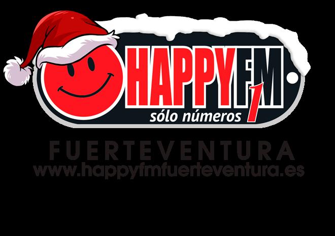 logo happyfm navidad 2018