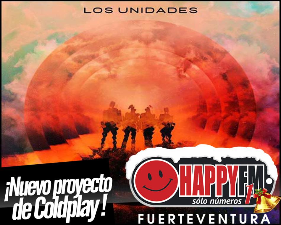 Coldplay arranca nuevo proyecto bajo el nombre de Los Unidades