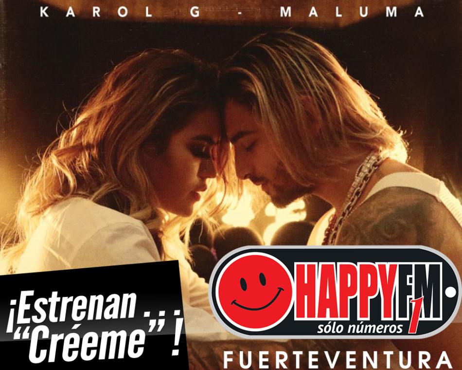 """Karol G y Maluma se unen en el tema """"Créeme"""""""