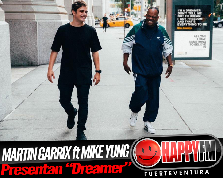 "Martin Garrix ft Mike Young presentan ""Dreamer"""