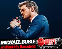 Michael Bublé anuncia conciertos en Madrid y Barcelona