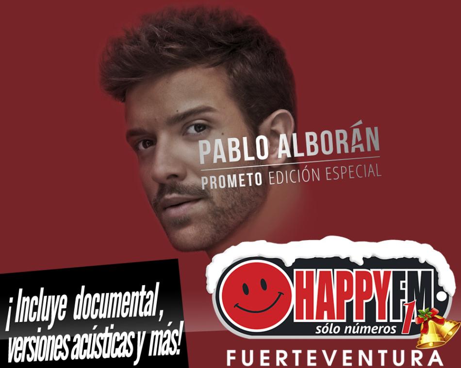 """""""Curo Tus Labios"""" en acústico incluido en la reedición del disco """"Prometo"""" de Pablo Alborán"""