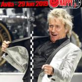 Rod Stewart de concierto en Ávila