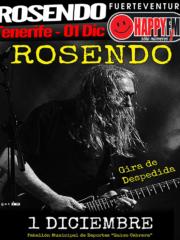 Gira despedida de Rosendo en Tenerife