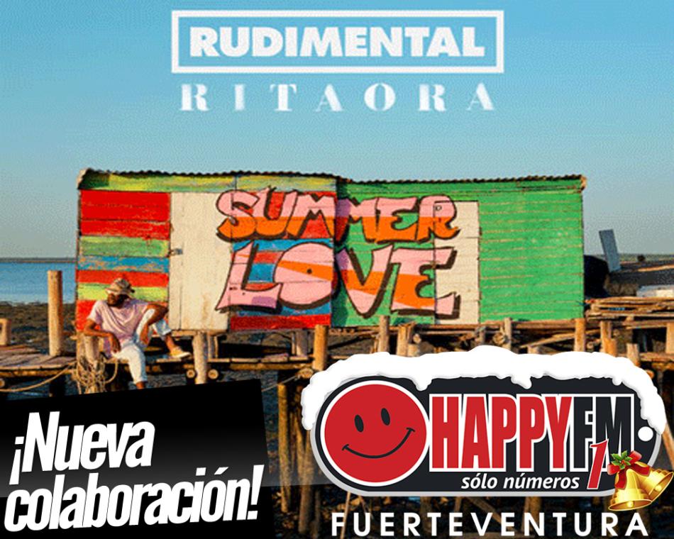 """""""Summer Love"""" es lo nuevo de Rudimental junto a Rita Ora"""