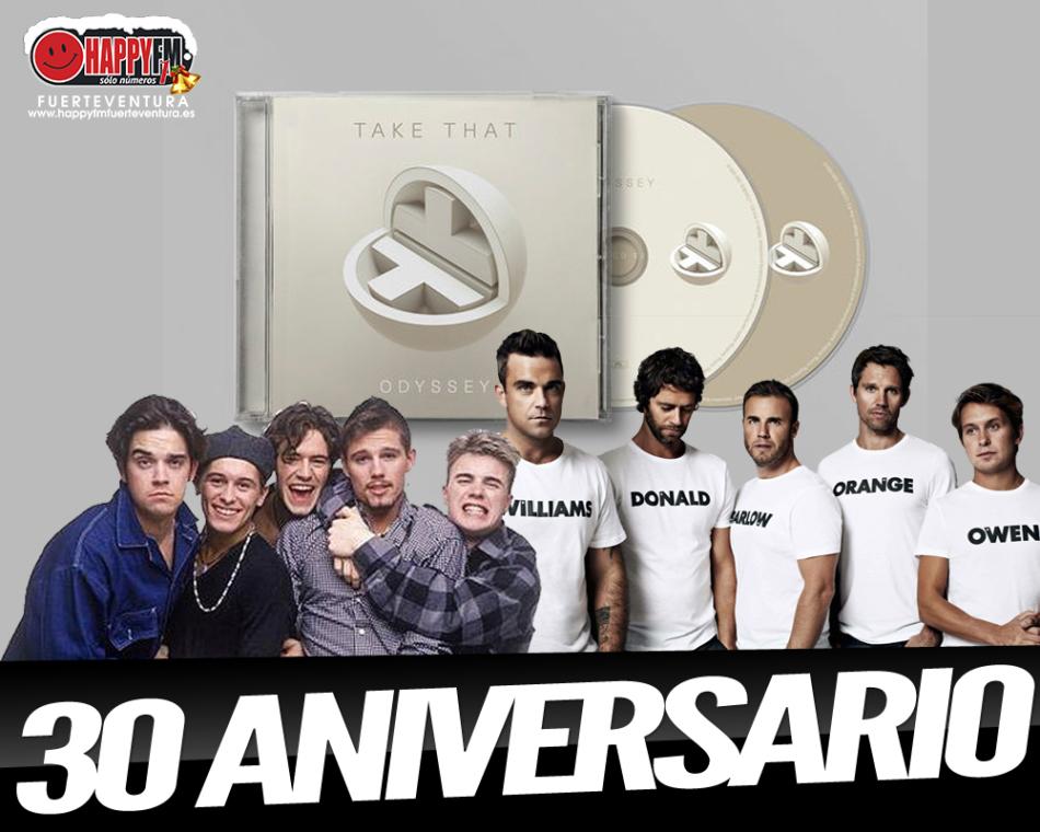 """Take That publica """"Oddysey"""", un disco por su 30 aniversario"""