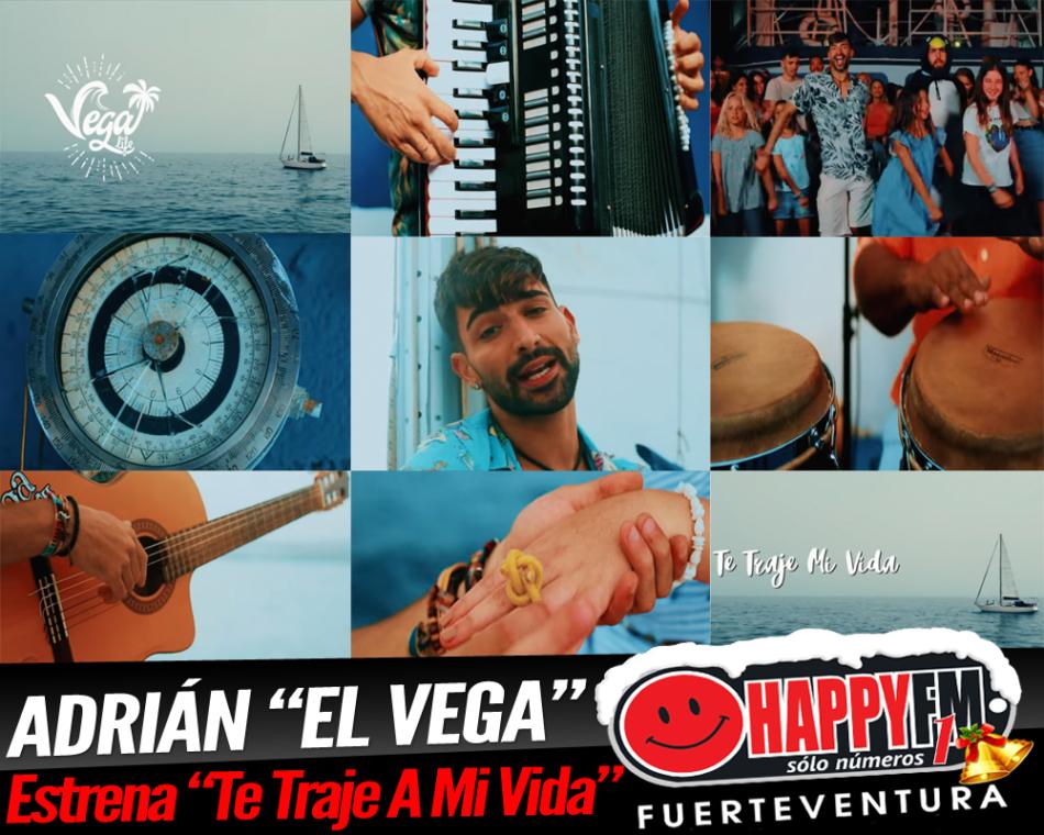 """Adrián """"El Vega"""" vuelve a hacernos bailar con el tema """"Te Traje A Mi Vida"""""""