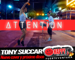 "Tony Succar versiona ""Attention"" de Charly Puth"