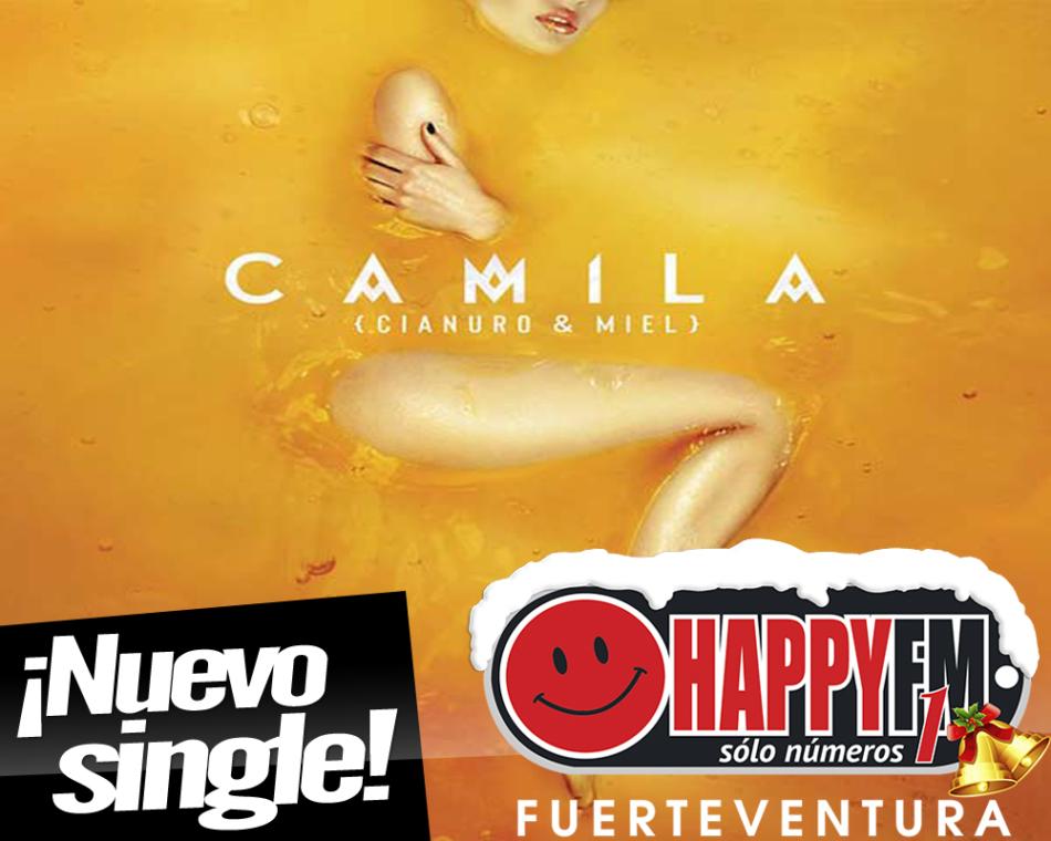 """""""Cianuro & Miel"""" es el nuevo single de Camila"""