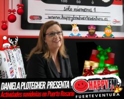 Daniela Plotegher, presidenta de la Asociación de Empresarios de Puerto del Rosario nos presenta el programa de actividades navideñas