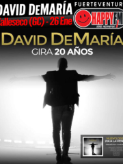 David DeMaría en Gran Canaria