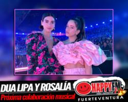 Posible y muy esperada colaboración musical de Dua Lipa y Rosalía