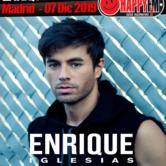 Único concierto de Enrique Iglesias en Madrid en 2019