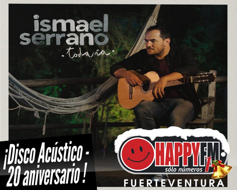Ismael Serrano publica disco en acústico por su 20 aniversario