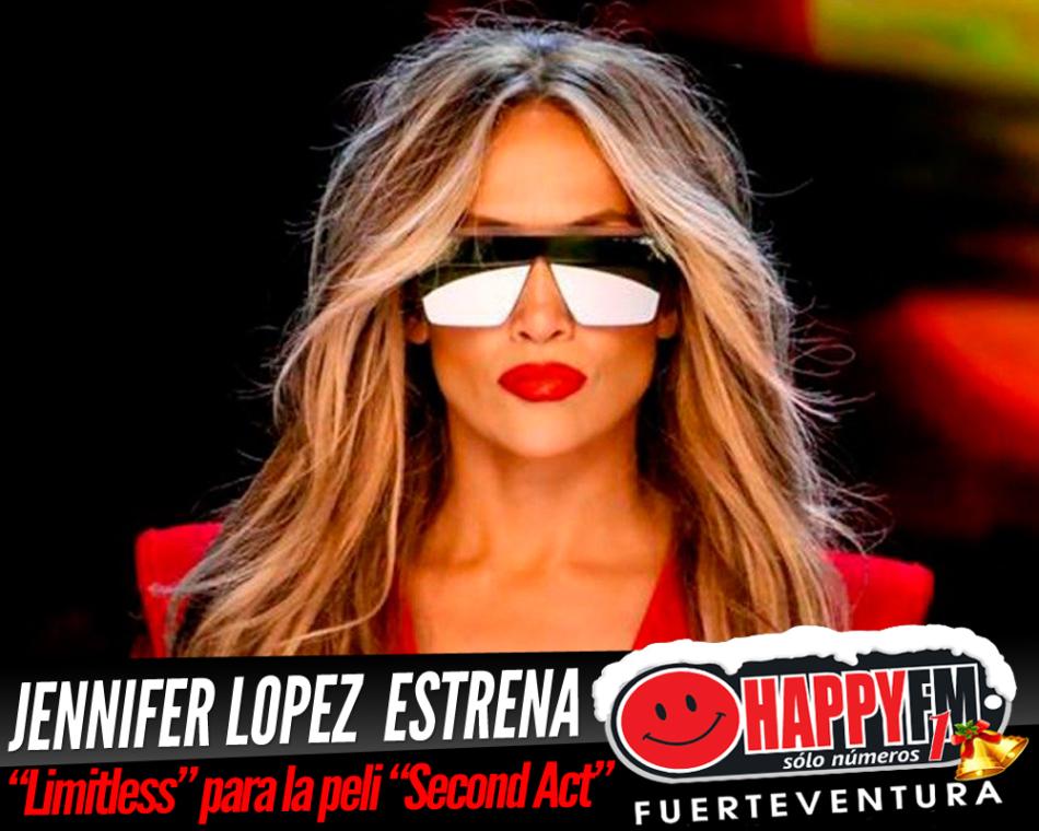 """Jennifer López estrena el tema """"Limitless"""" para la película """"Second Act"""""""