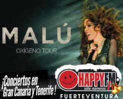 Malú anuncia conciertos en Gran Canaria y Tenerife
