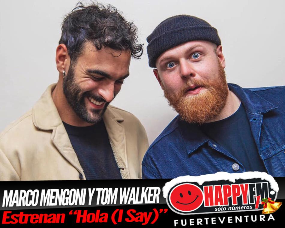 """Marco Mengoni presenta el tema """"Hola (I Say)"""" junto a Tom Walker"""