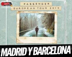 Passenger anuncia conciertos en Madrid y Barcelona