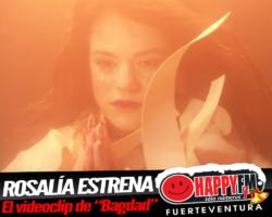"""Rosalía presenta el videoclip del tema """"Bagdad"""""""