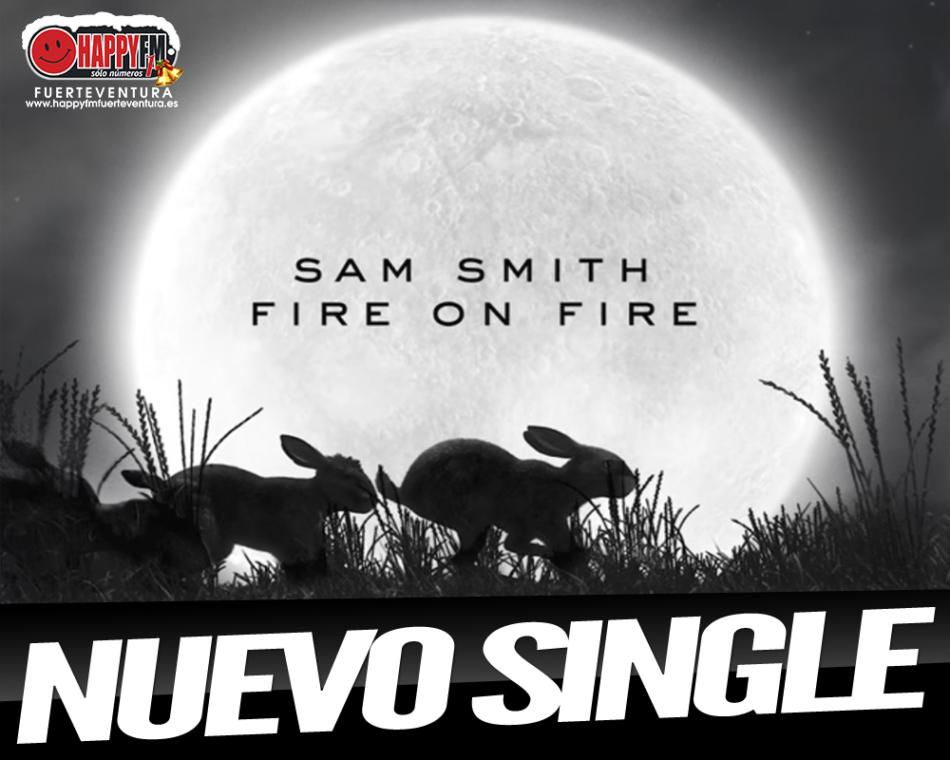 """""""Fire On Fire"""" es el nuevo single de Sam Smith"""