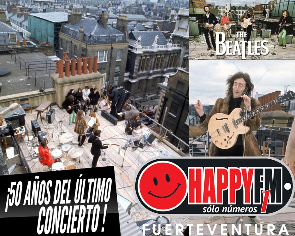 """50 años del último concierto de The Beatles en la """"azotea"""""""