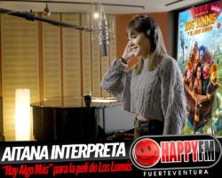 """Aitana interpreta """"Hay Algo Más"""" para la película de Los Lunnis"""