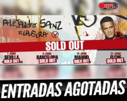 Alejandro Sanz agota todas las entradas para sus conciertos en nuestro país