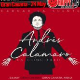 Concierto de Andrés Calamaro en Gran Canaria