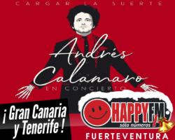 Andrés Calamaro de concierto en Gran Canaria y Tenerife