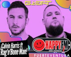 """Calvin Harris y Rag'n'Bone Man…dos gigantes que presentan un tema """"Gigante"""""""