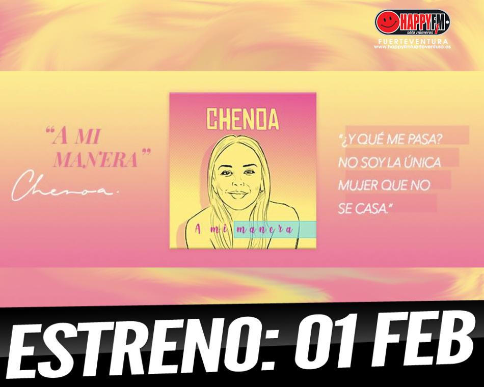 "Chenoa estrenará ""A Mi Manera"" este viernes, 01 de Feberero"