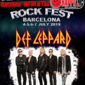 Def Leppard en el Rock Fest de Barcelona