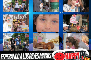"""Especial Despiértate Happy """"Ya Vienen Los Reyes Magos"""" en directo desde la calle Primero de Mayo de Puerto del Rosario"""