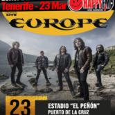 Europe de concierto en Tenerife
