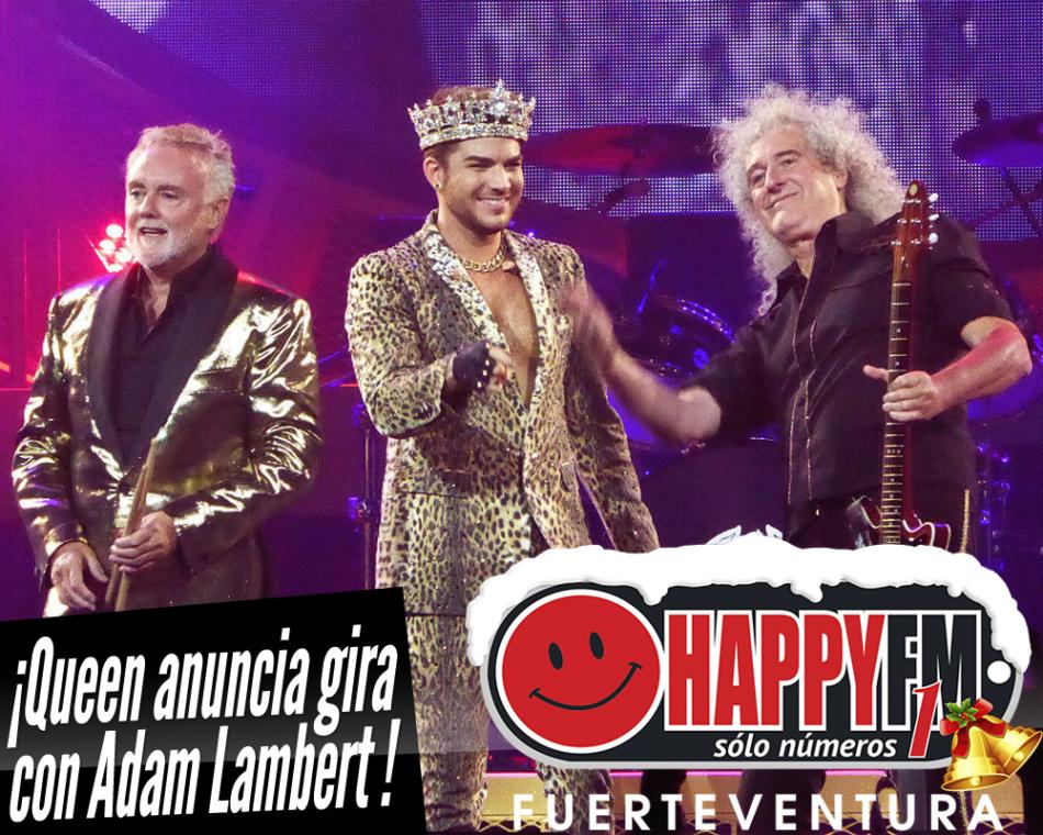 Queen anuncia gira en 2019 junto a Adam Lambert