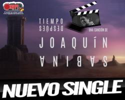"""Joaquín Sabina estrena el single """"Tiempo Después"""""""
