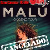 Cancelada la gira de Malu – Gran Canaria