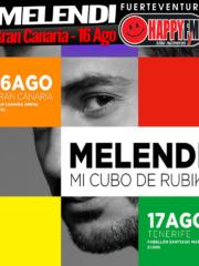 Concierto de Melendi en Gran Canaria