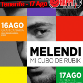 Concierto de Melendi en Tenerife