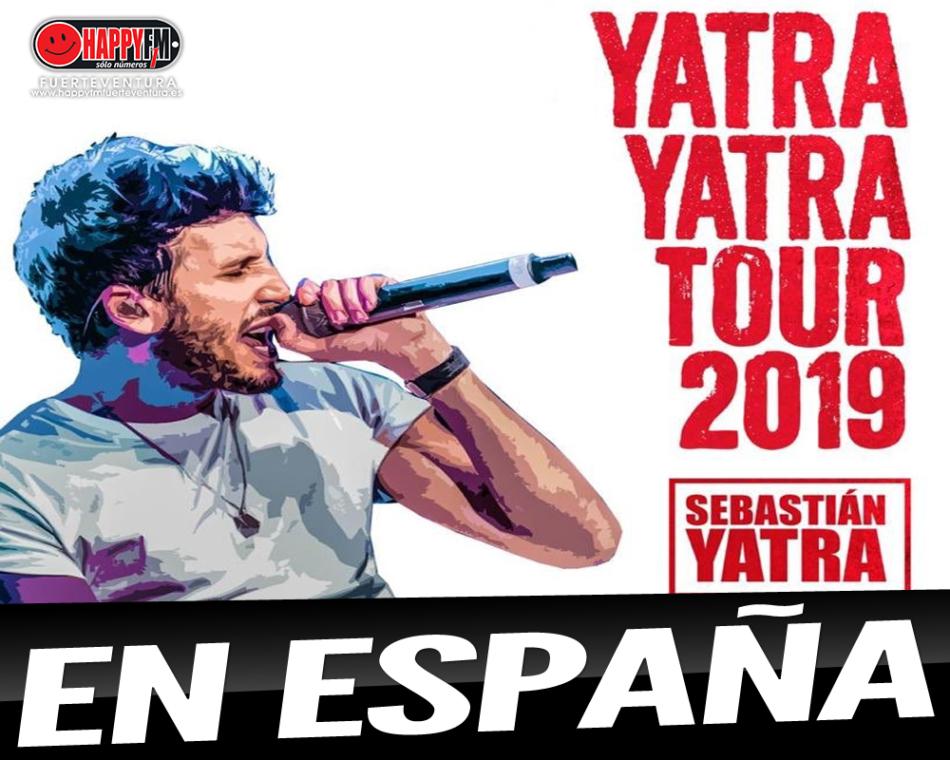 Sebastian Yatra pasará de gira por nuestro país en el mes de Marzo
