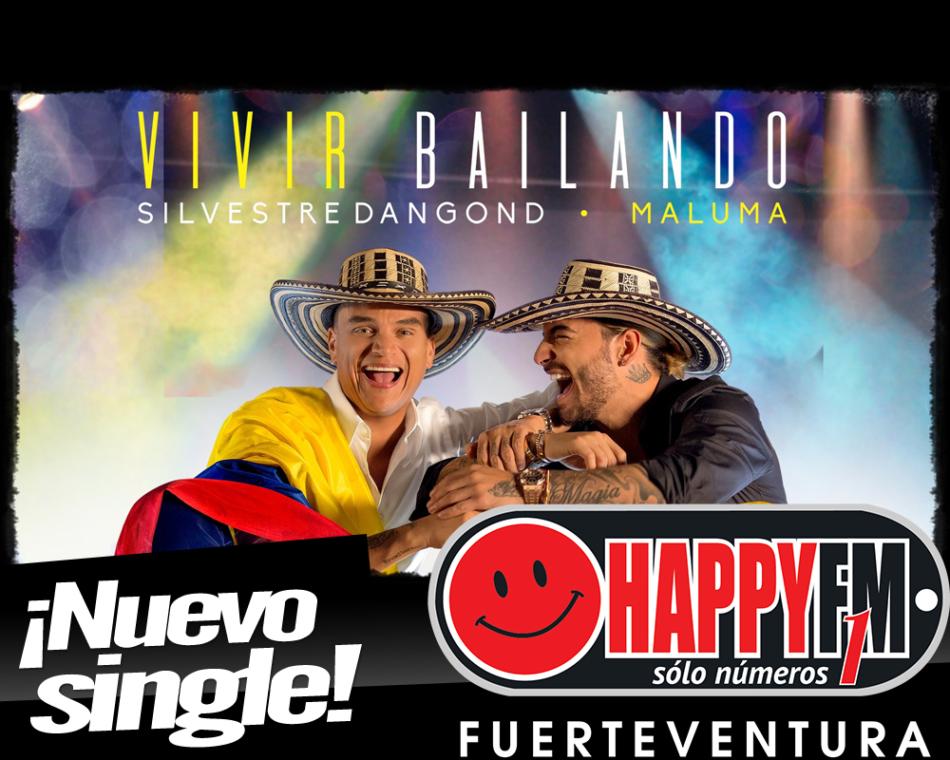 """Maluma y Silvestre Dangond se unen para """"Vivir Bailando"""""""