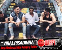 """""""Viral Pisadinha"""" es el último single de Joey Montana junto a Felipe Araujo y Toñito"""