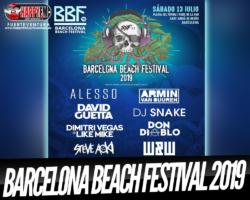 David Guetta, Steve Aoki y DJ Snake son algunos de los artistas del Barcelona Beach Festival 2019