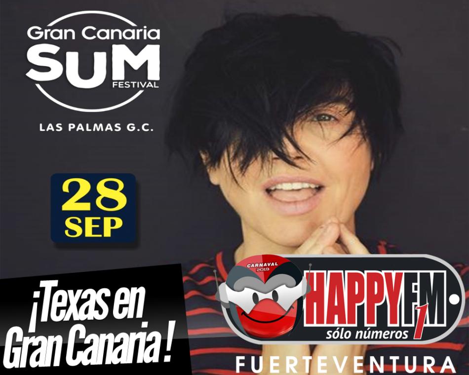 Texas estará en el Gran Canaria SUM Festival
